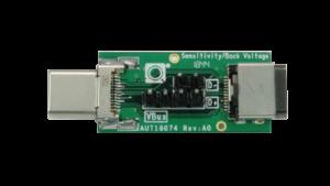 USB Type-C® Back Voltage & Sensitivity Fixture