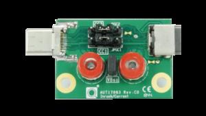 USB Type-C® Inrush/Bypass Capacitance Measure Fixture
